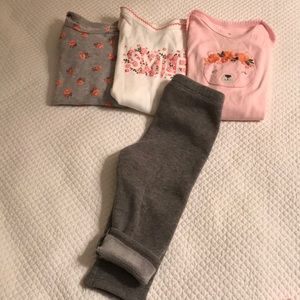 Bundle of baby clothes 12 months